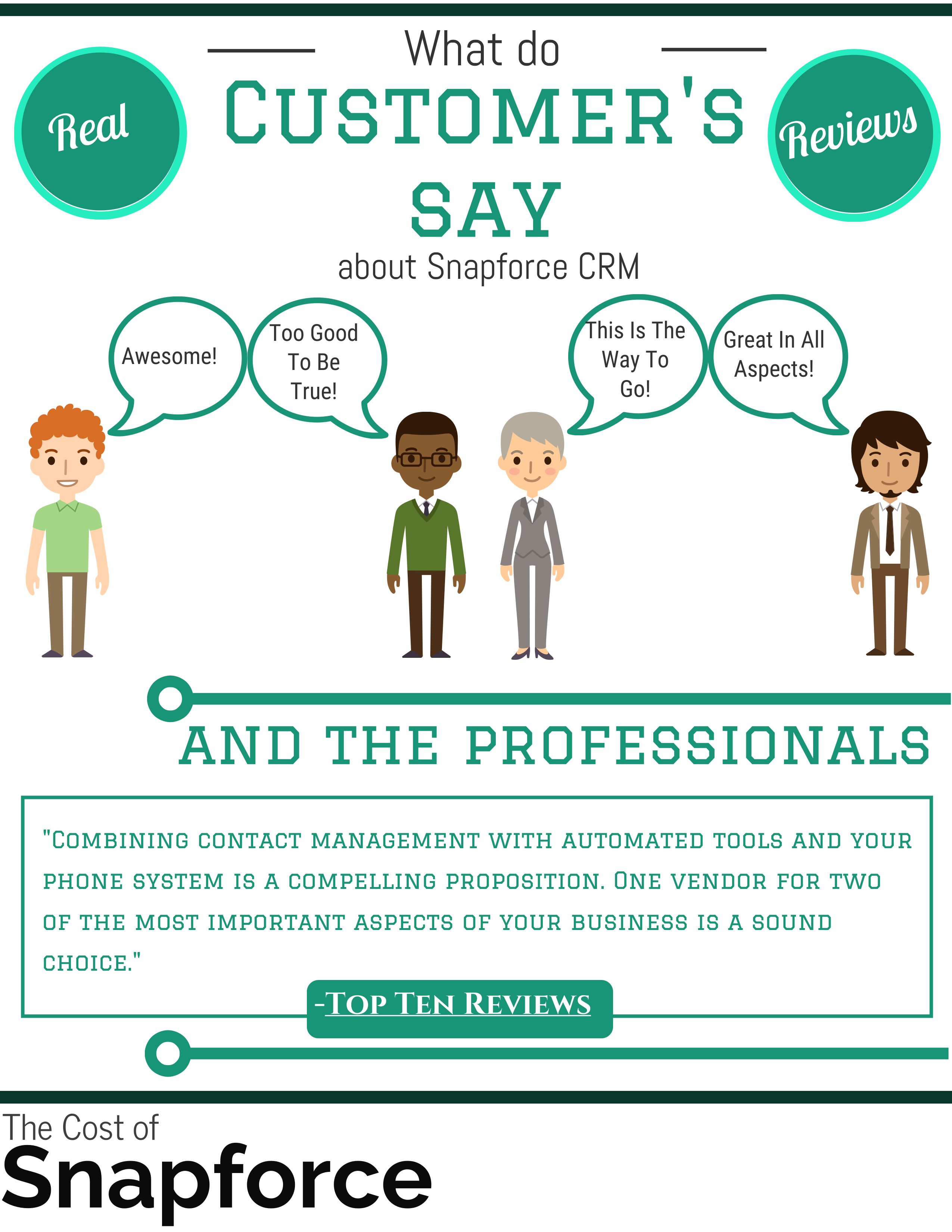 Snapforce CRM Infographic Page 3